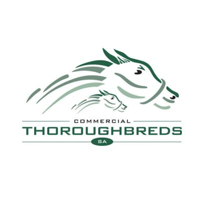 Icon Graphic Design Adelaide - logo design Adelaide image of Commercial Thoroughbreds logo.