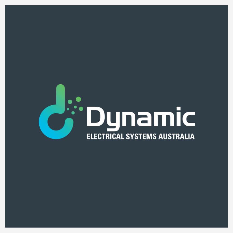 Icon Graphic Design Adelaide - Dynamic Electrical Systems Australia logo.