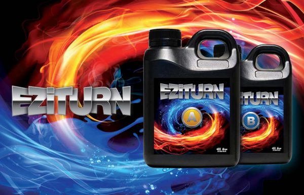 Icon Graphic Design Adelaide - packaging page image of Eziturn A & B label designs.