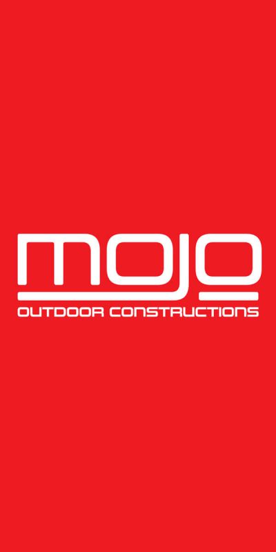 Icon Graphic Design Adelaide - Mojo Outdoor Constructions logo.