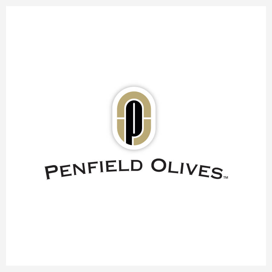 Icon Graphic Design Adelaide - Penfield Olives logo.