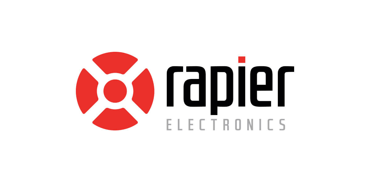 Icon Graphic Design Adelaide - Rapier Electronics logo.