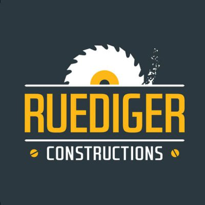 Icon Graphic Design Adelaide - logo design Adelaide image of Ruediger Constructions logo.