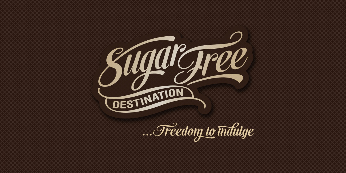 Icon Graphic Design Adelaide - logo design Adelaide image of Sugar Free Destination logo.