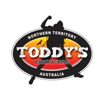 Icon Graphic Design Adelaide - logo design Adelaide image of Toddy's Backpackers logo.