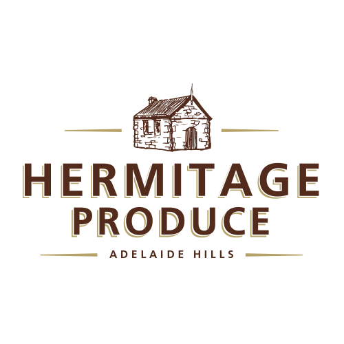 Icon Graphic Design Adelaide - Hermitage Produce logo.