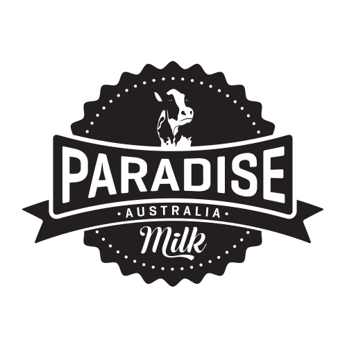 Icon Graphic Design Adelaide - Paradise Milk logo.
